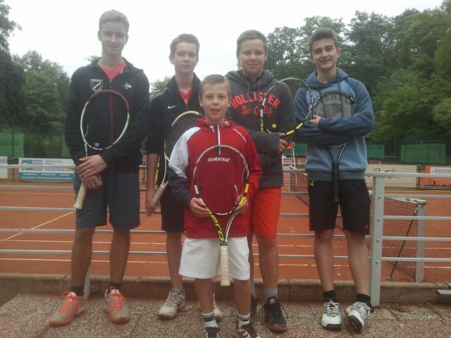 Tennismannschaft 2013