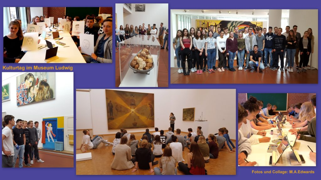 Collage Museum Ludwig Jahresplaner